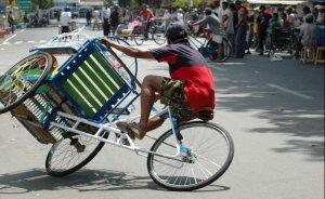 Alat Transportasi Darat Tradisional Becak