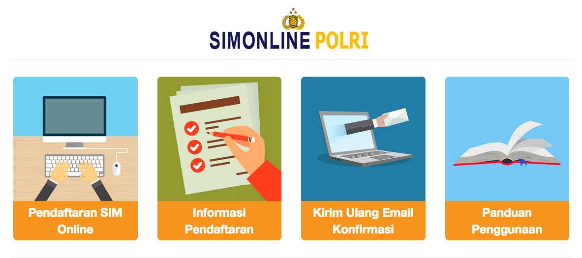 Cara Membuat SIM Online Terbaru