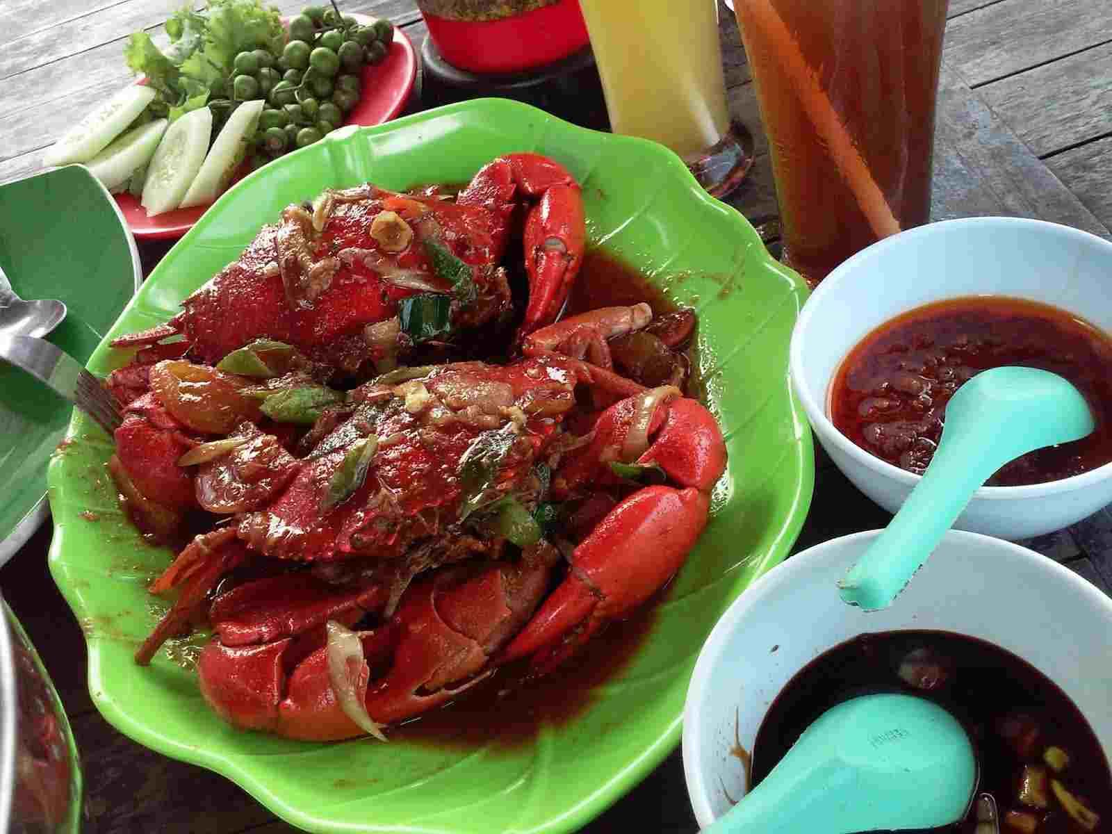 Seafood Pantai Teluk Penyu