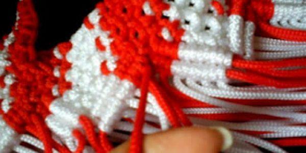 Cara membuat tas tali kur buat pemula