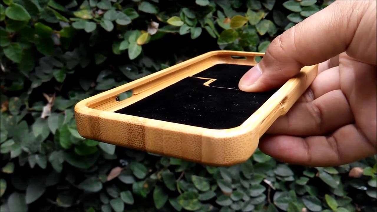 Casing Gadget dari Bambu