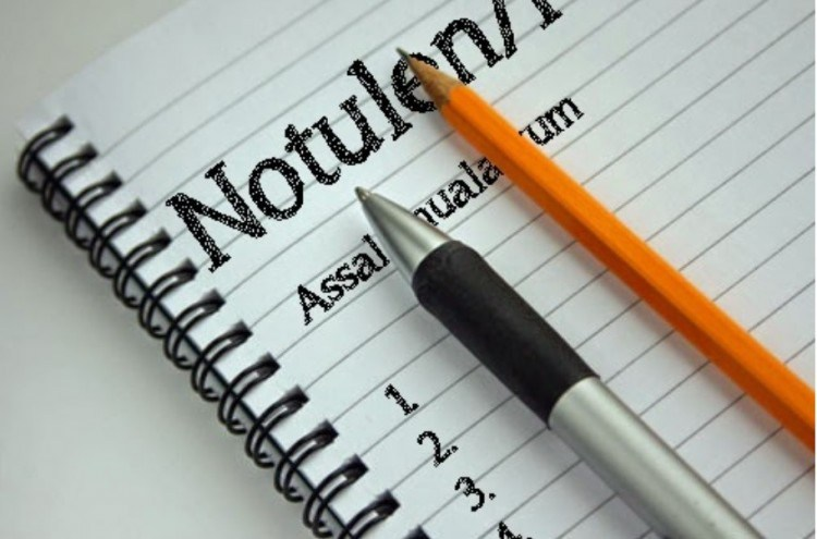 5 Contoh Notulen Rapat Kantor Sekolah Osis Diskusi Dan Seminar
