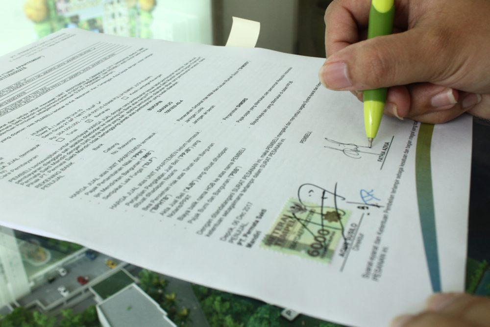 Contoh Surat Pernyataan Jual Beli Tanah