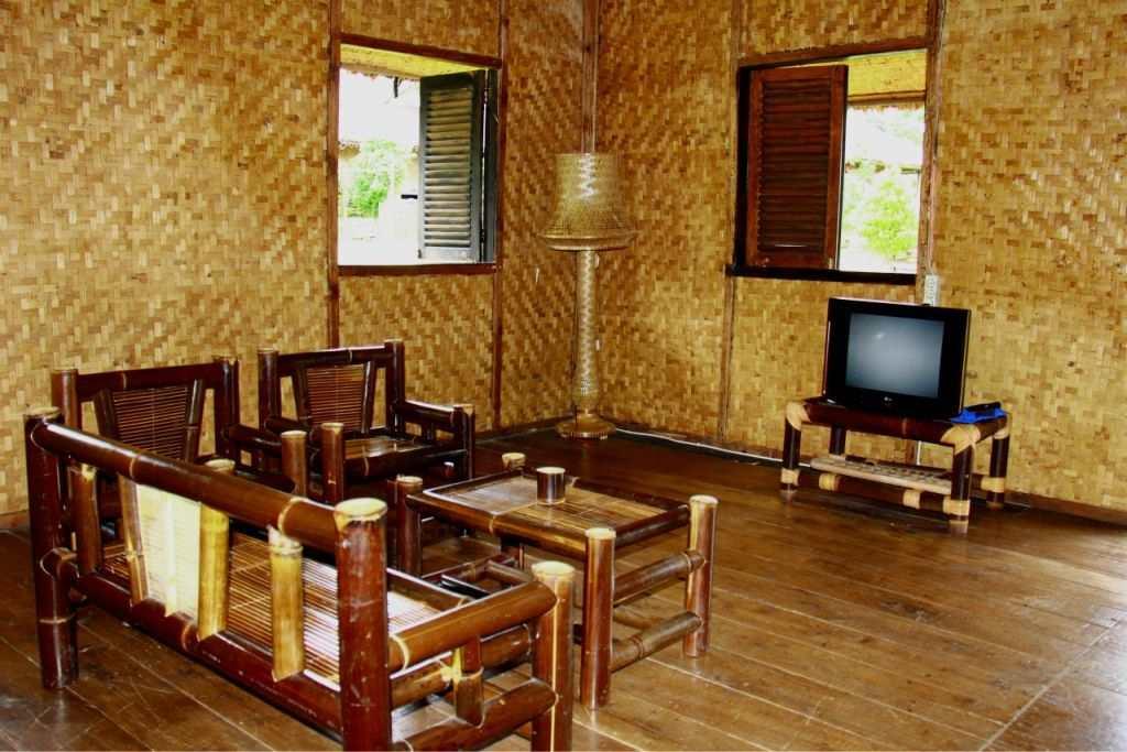 jenis kerajinan dari bambu