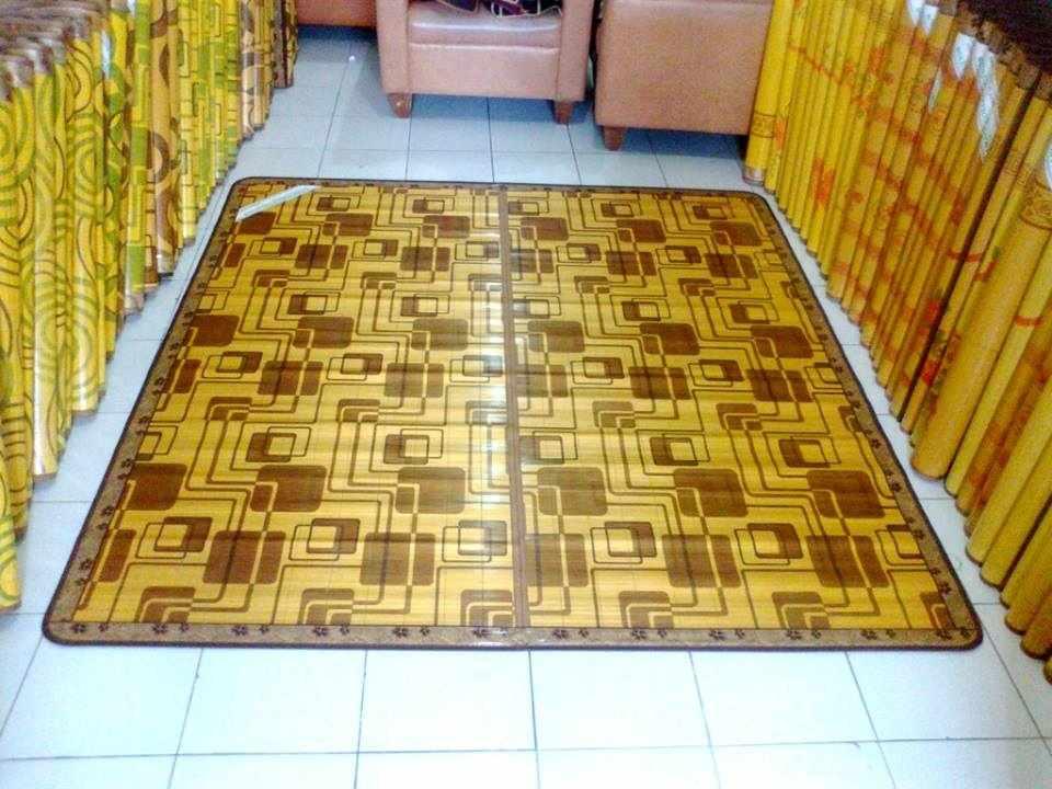 tikar dari bambu