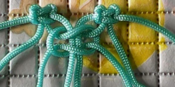 cara membuat tas tali kur 8