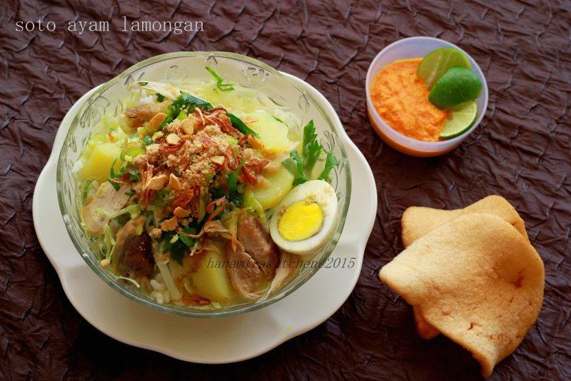 makanan khas jawa timur lamongan