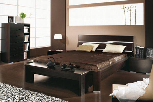 desain kamar tidur dinding kayu