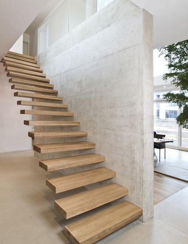 desain tangga unik