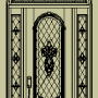 pintu minimalis leter s