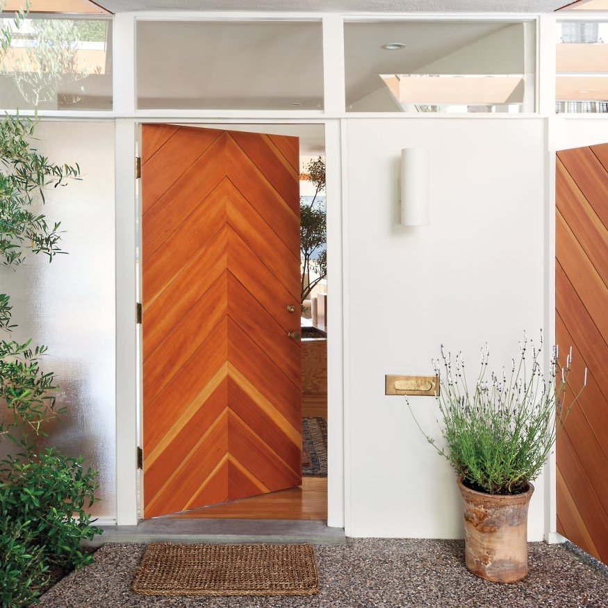 pintu minimalis 2 pintu terbaru