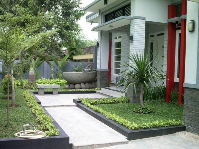 100 Inspirasi Taman Minimalis Lahan Sempit Sederhana Modern 2019