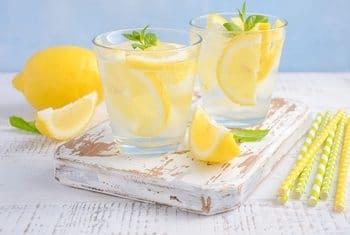 Cara Membuat Infused lemon untuk kekebelan tubuh