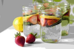 Cara Membuat Infused water untuk jerawat