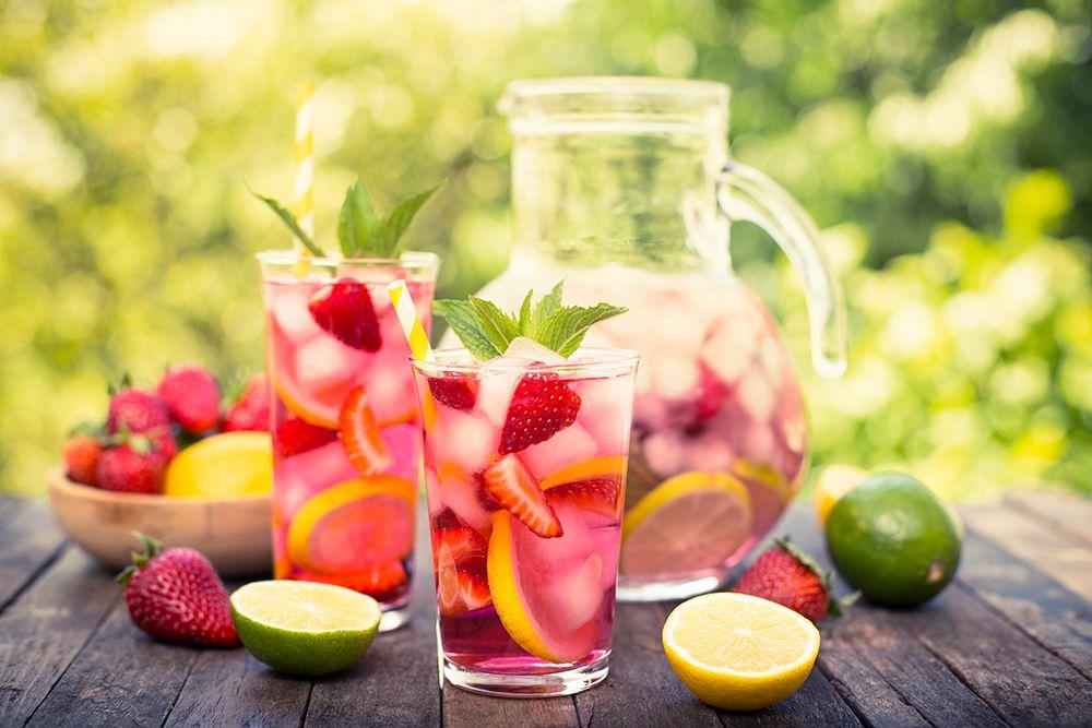 Cara Membuat Infused water untuk perut buncit