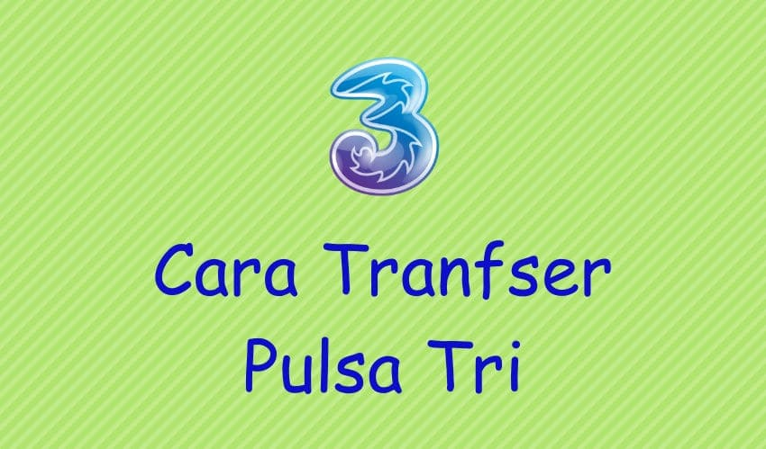 cara transfer pulsa 3